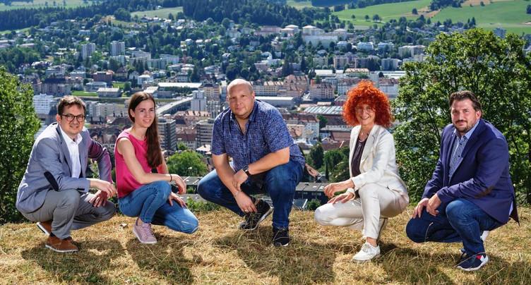 Les Vert'libéraux lancent cinq candidats dans la course au Conseil communal chaux-de-fonnier
