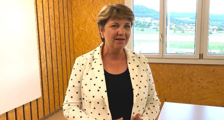 Le PDC Jura lance sa campagne avec Viola Amherd