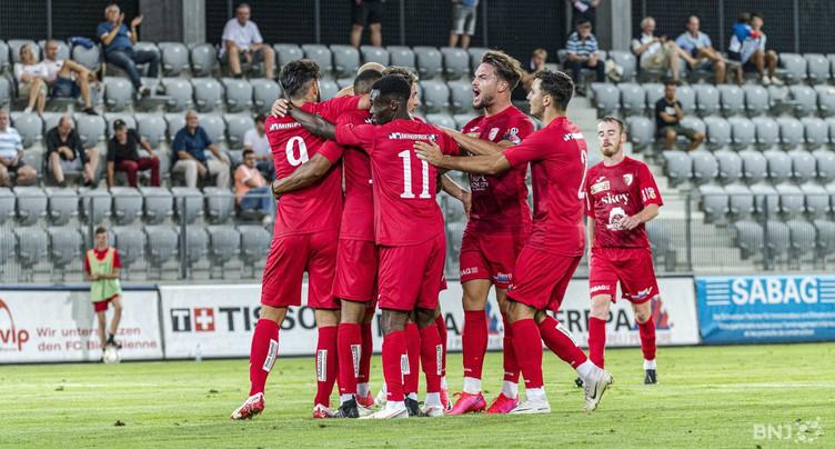 Le FC Bienne au repos jusqu'en 2021