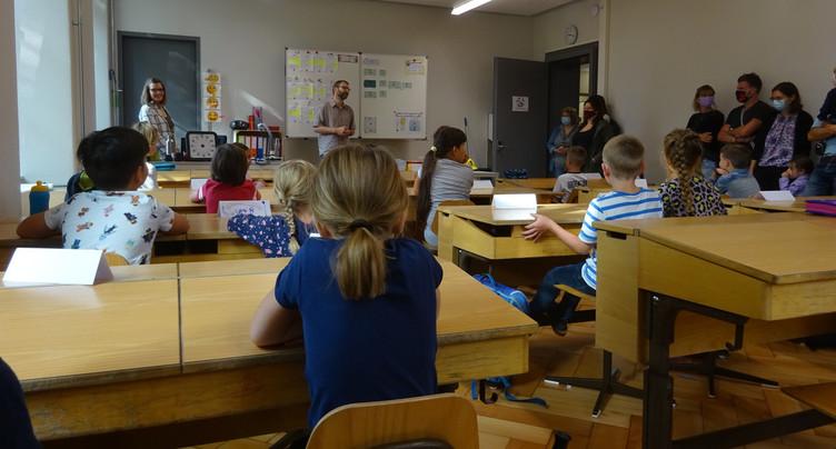 Classe primaire fermée dans le Haut-Vallon