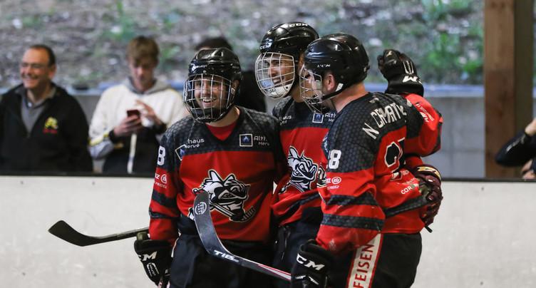 Les play-off d'inline hockey repoussés d'une semaine