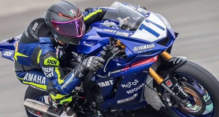 Stéphane Frossard disputera le championnat du monde de Supersport