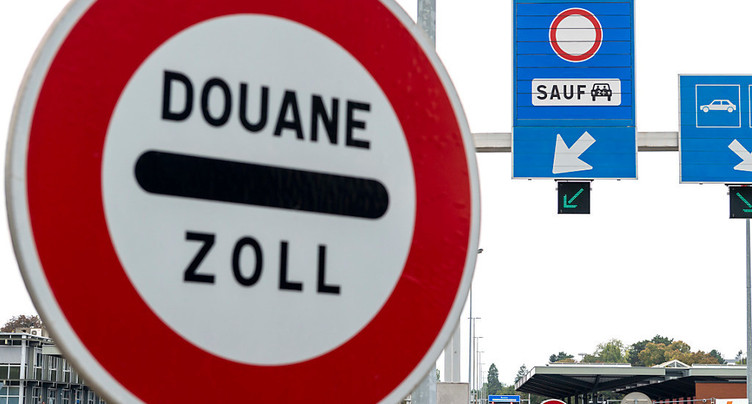 La Suisse pas concernée par le tour de vis à la frontière française
