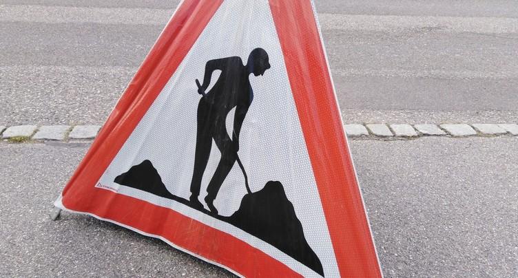 St-Imier : rue Pierre-Alin en chantier