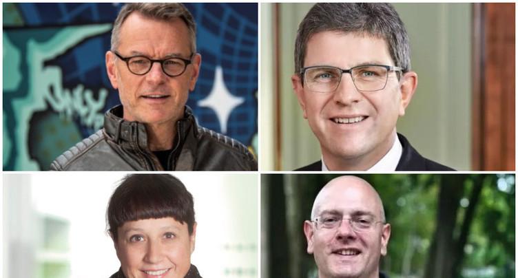 Mairie de Bienne : les quatre candidats en débat