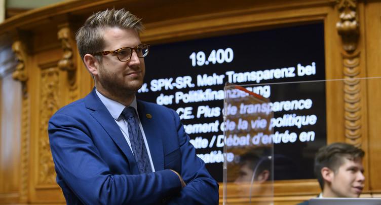 Fédération suisse des patients : Baptiste Hurni désormais président