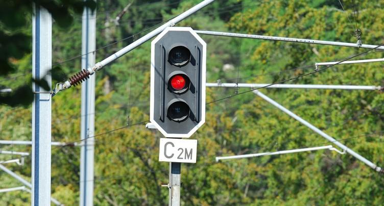 Trafic ferroviaire rétabli entre Sonceboz et Moutier