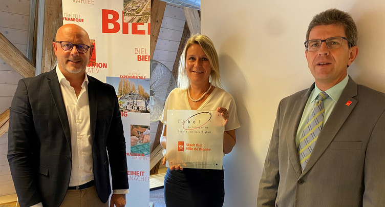 L'administration biennoise relabellisée bilingue