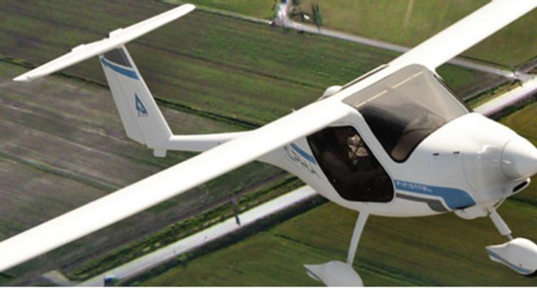 Un avion électrique dans le ciel ajoulot