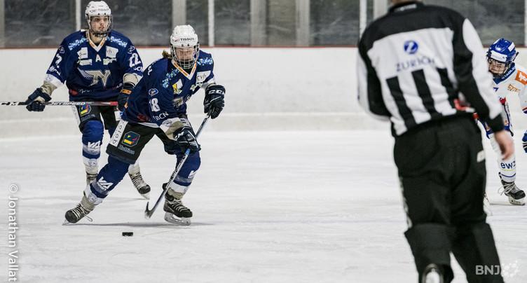 La Neuchâtel Hockey Academy éliminée