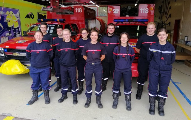 Les jeunes sapeurs-pompiers jurassiens se forment au métier