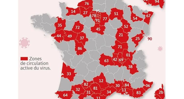 Covid en France : pas de grands changements pour les Neuchâtelois