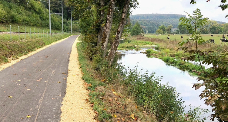 Nature et mobilité douce entre Grandgourt et Buix