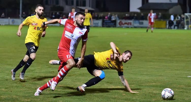 Le FC Bassecourt n'a toujours pas renoué avec la victoire