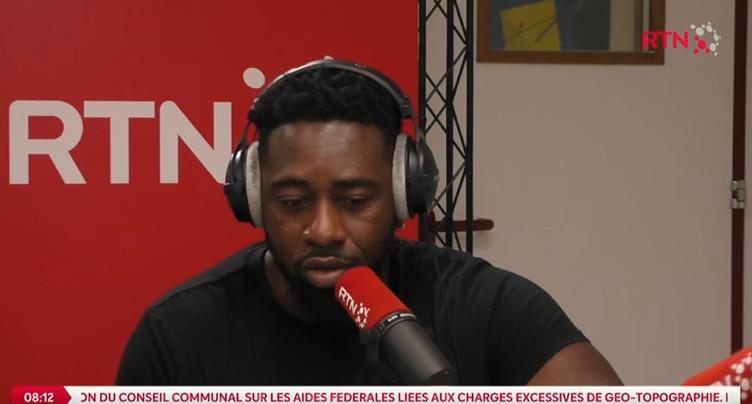 Good Morning Neuchâtel : Christian Mukuna n'est pas à la Fête
