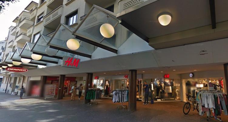 H&M déserte le coeur de Bienne
