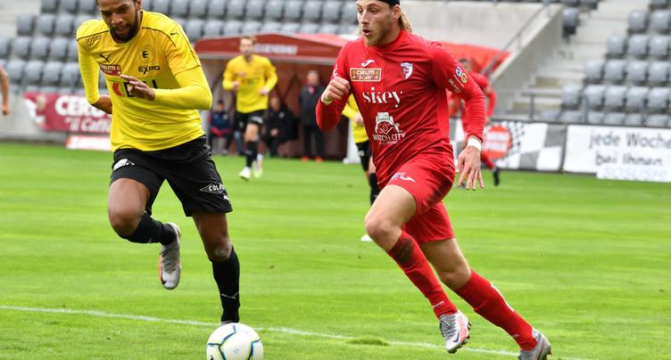 Premier coup d'arrêt pour le FC Bienne