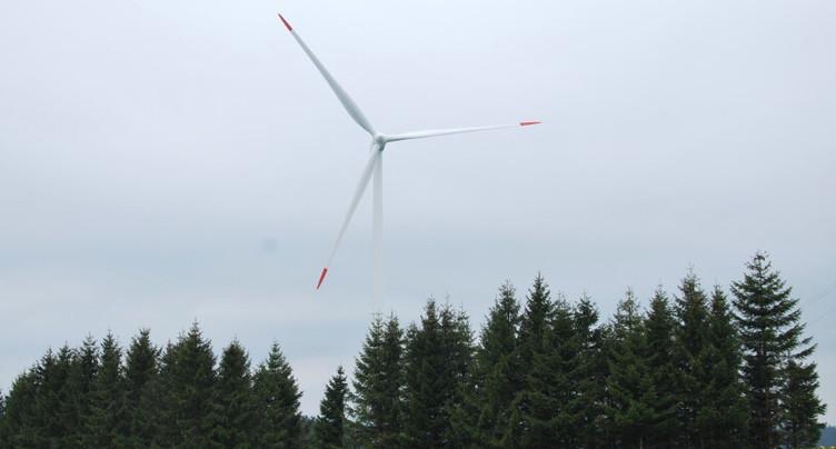 Le projet de parc éolien du Montperreux devient Eole-de-Ruz