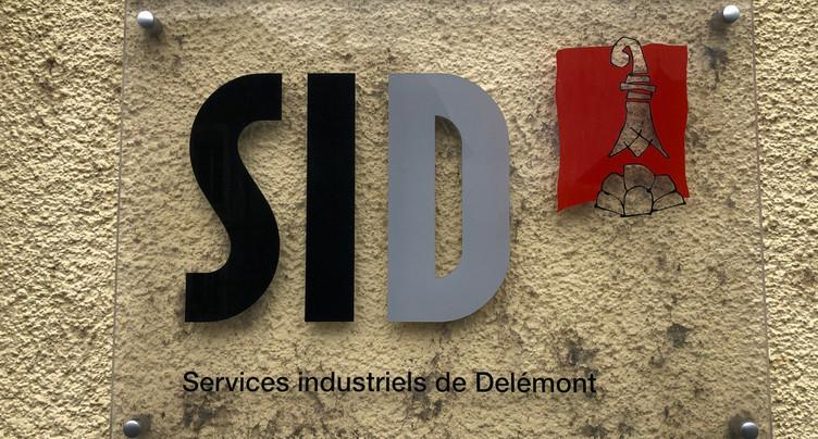 Travaux aux Services industriels de Delémont