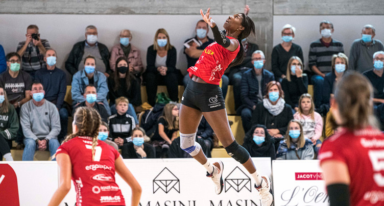 Une gifle pour le Volleyball Franches-Montagnes