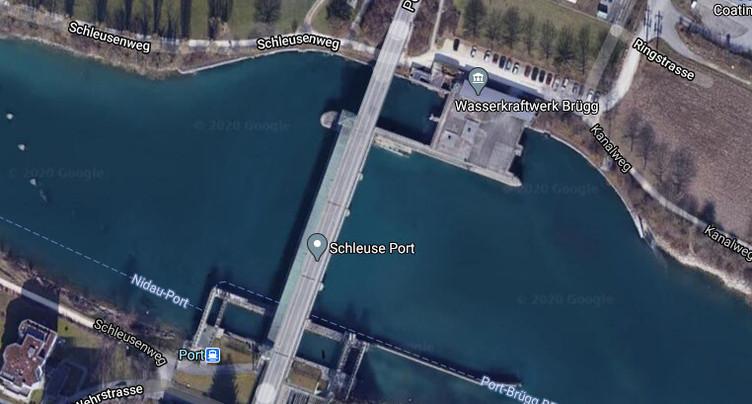 Fermeture nocturne du pont du barrage à Port