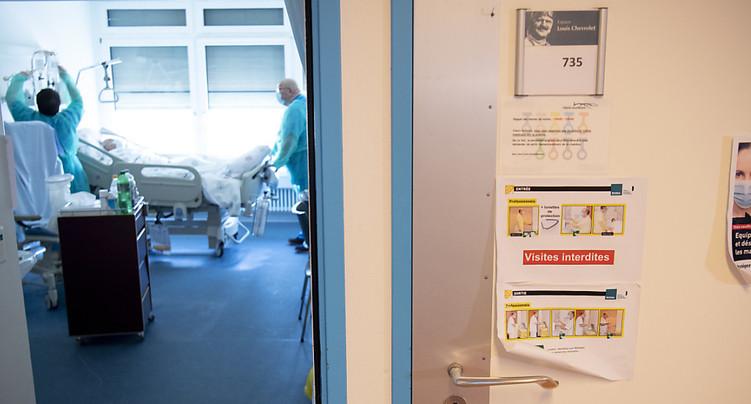 Le RHNe réintroduit les visites aux patients hospitalisés