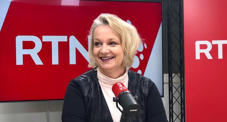 Florence Nater candidate à la candidature