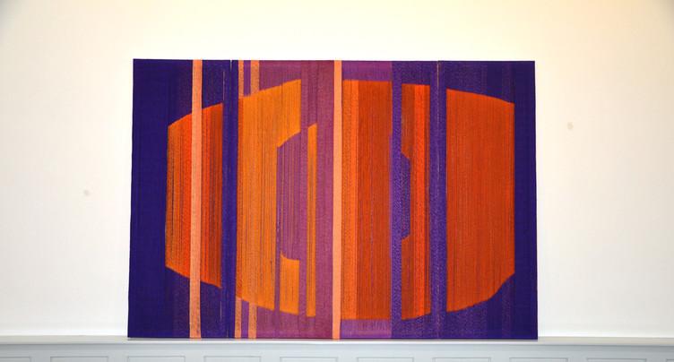 Peinture et tapisserie sur les murs du MBA