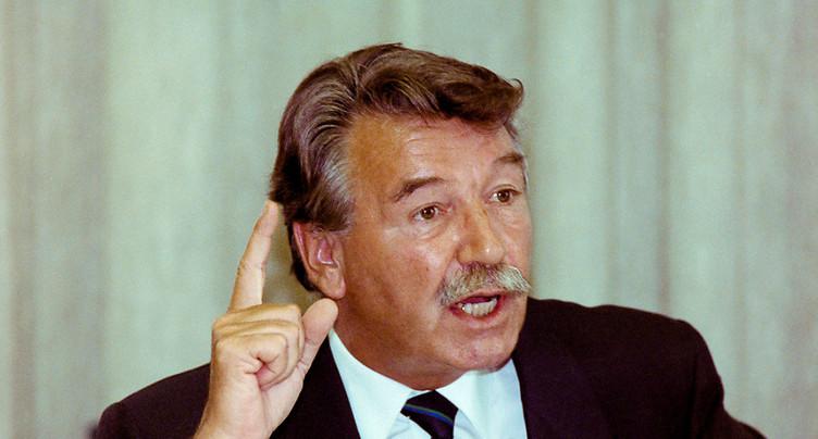 Décès de l'ancien conseiller fédéral neuchâtelois René Felber