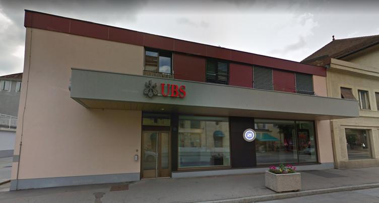 UBS ferme son agence à Fleurier