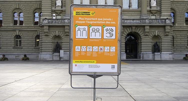 La Suisse compte 3008 nouveaux cas de coronavirus en 24 heures