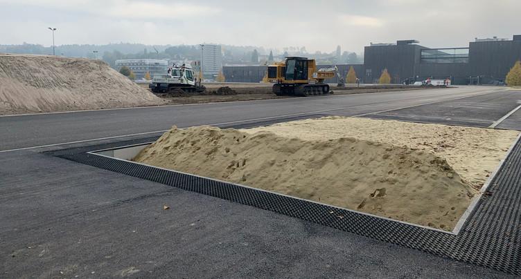 Un complexe d'athlétisme d'envergure voit le jour à Bienne