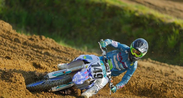 Vincent Seiler neuvième en motocross