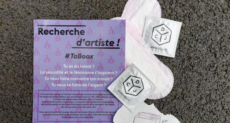 Des boîtes à protections hygiéniques solidaires à Yverdon