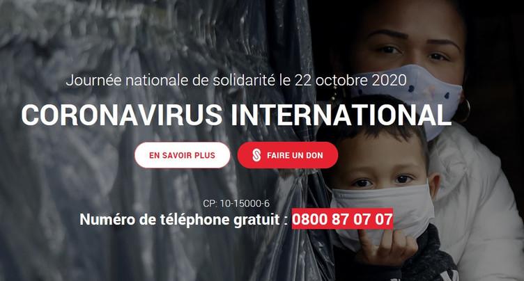 Solidarité avec les victimes internationales du Covid-19