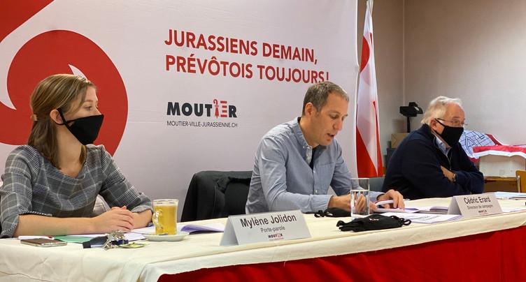 Coup d'envoi de la campagne à Moutier