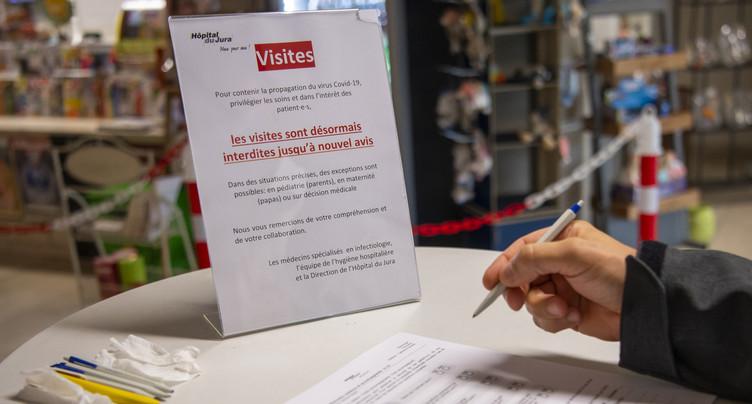 L'Hôpital du Jura interdit à nouveau les visites