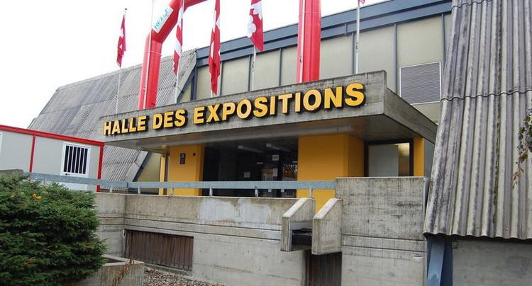 Le grand vide des halles d'expositions