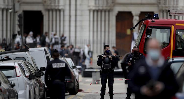 Attaque au couteau à Nice : trois morts et plusieurs blessés