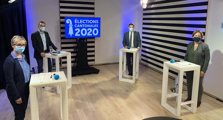 Le débat du 2e tour au Gouvernement jurassien