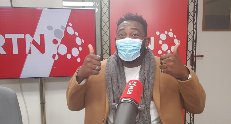 Good Morning Neuchâtel : Christian Mukuna masqué et dépité