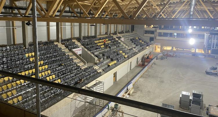 Des débuts à huis clos dans la Raiffeisen Arena