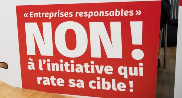 Entreprises responsables: refus des cantons