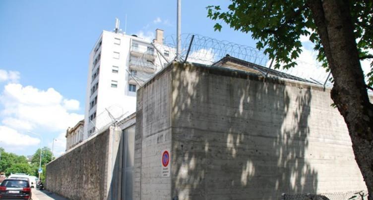 Le feu à la prison de La Chaux-de-Fonds