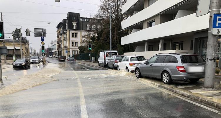 Perturbations sur le quai Philippe-Godet
