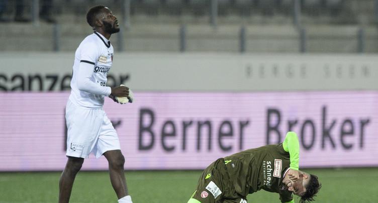 Neuchâtel Xamax FCS subit une troisième défaite de rang