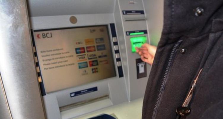 Encore de beaux jours pour les bancomats dans le Jura