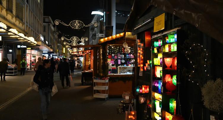 Marché de Noël de Bienne presque comme d'habitude