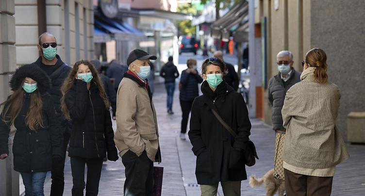 Amendes possibles pour les personnes qui ne portent pas le masque