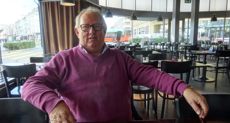 Adieux à la mairie : Roland Matti